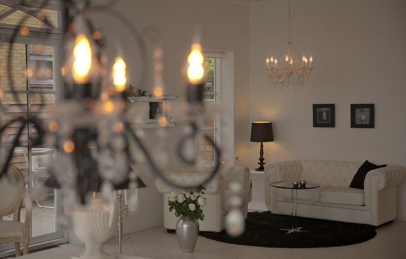 Skab en hyggelig belysning med glødepærer